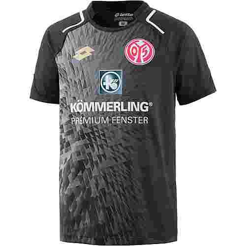Lotto 1. FSV Mainz 05 17/18 Auswärts Fußballtrikot Kinder BLK