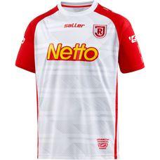 Saller SSV Jahn Regensburg 17/18 Heim Fußballtrikot Herren weiß-rot