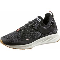PUMA IGNITE evoKNIT Lo VR Sneaker Damen Puma Black-Quarry-QUIET SHADE