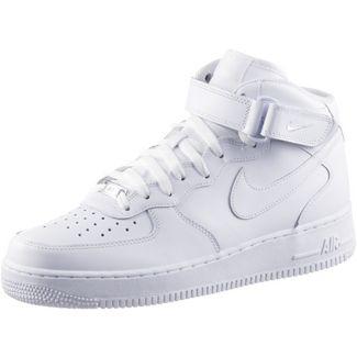 Nike AIR FORCE 1 MID '07 Sneaker Herren white-white