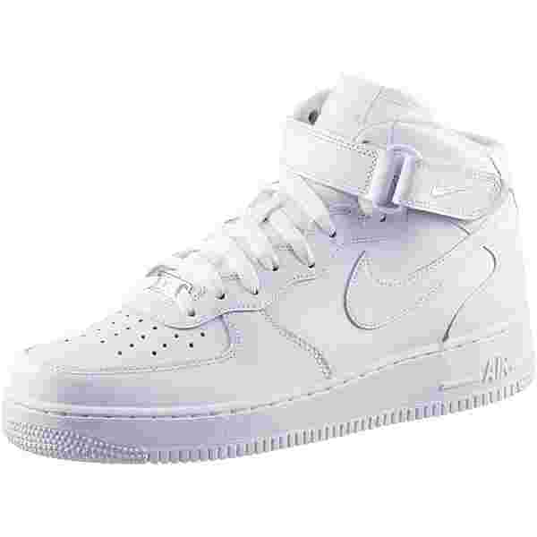 Nike AIR FORCE 1 MID '07 Sneaker Herren white-white