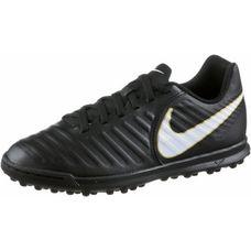 Nike JR TIEMPOX RIO IV TF Fußballschuhe Kinder BLACK/WHITE-BLACK-MTLC VIVID GOLD