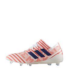 adidas Nemeziz 17.1 FG Fußballschuhe Damen Footwear White-Mystery Ink -Easy Coral