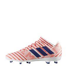 adidas Nemeziz 17.3 FG Fußballschuhe Damen Footwear White-Mystery Ink -Easy Coral
