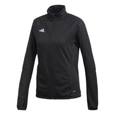 adidas Tiro 17 Trainings Funktionsjacke Damen Black White