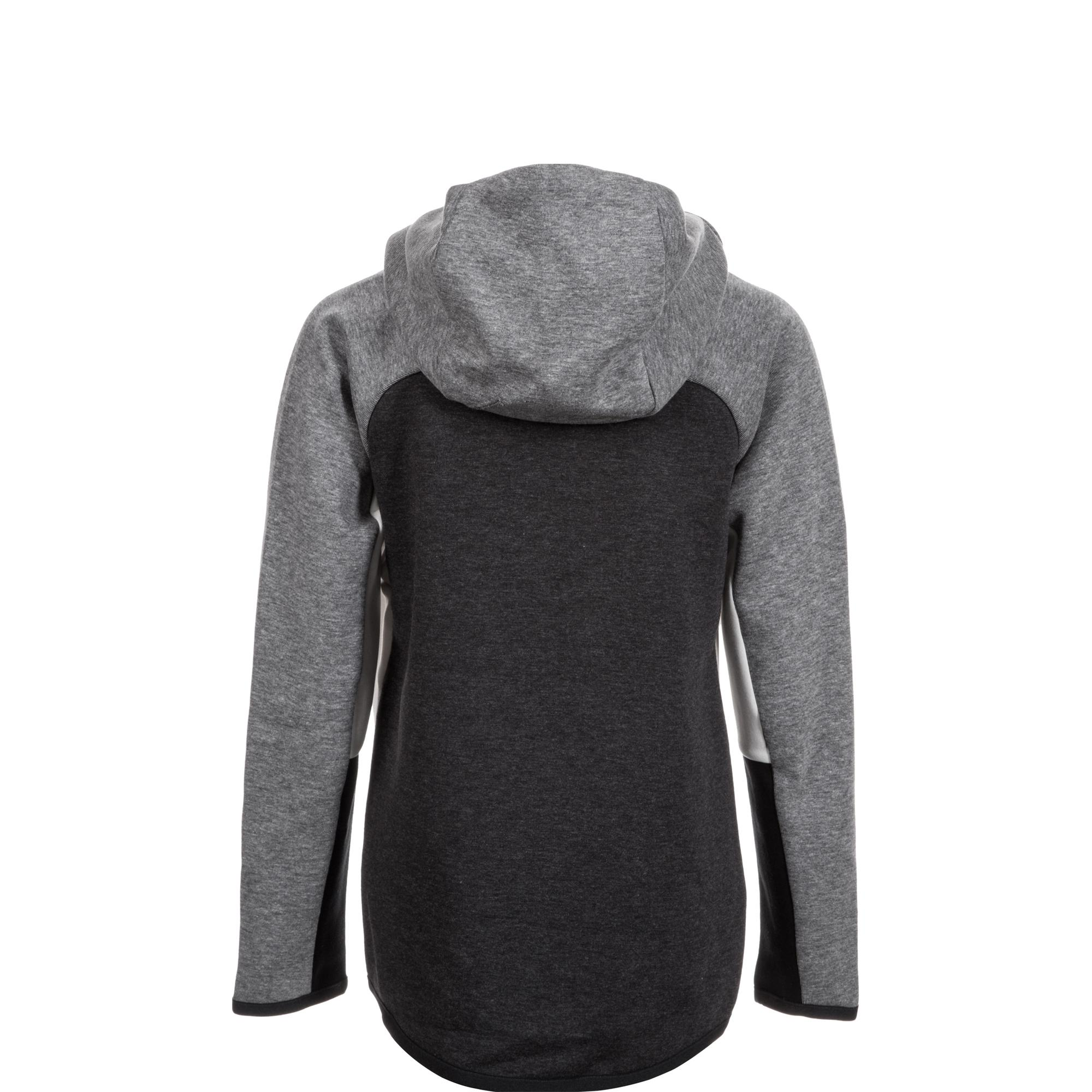 Nike Tech Fleece Windrunner Kapuzenjacke Damen grau im Online Shop von SportScheck kaufen