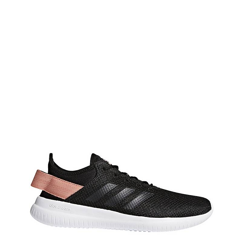 best website 41801 dbdb3 adidasCloudfoam QT Flex SneakerDamen Core BlackTrace Pink