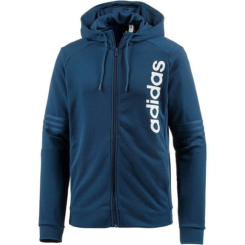 Adidas Sweatjacke Herren BLUE NIGHT F17 im Online Shop von ... 7e2a618b42