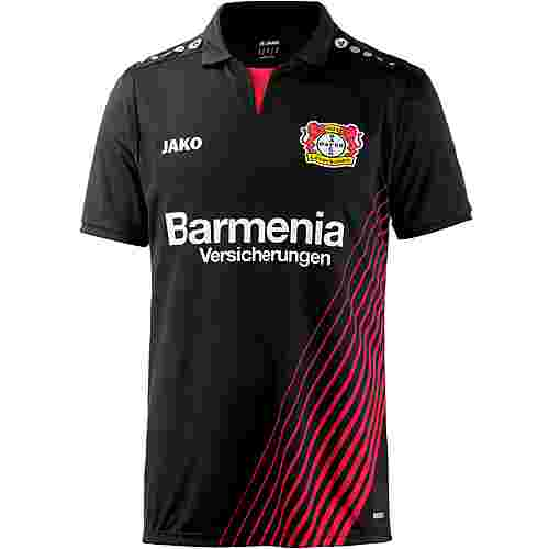 JAKO Bayer 04 Leverkusen 17/18 Heim Fußballtrikot Herren schwarz