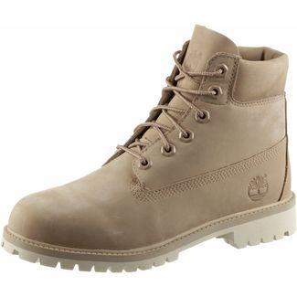 TIMBERLAND 6 Inch Junior Boots Damen beige