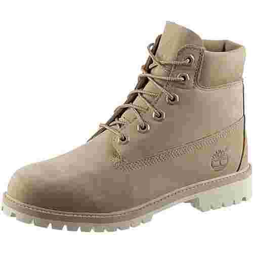 TIMBERLAND 6 Inch Premium Junior Boots Damen beige