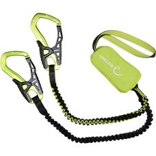 EDELRID Cable Kit 5.0 Klettersteigset schwarz/grün