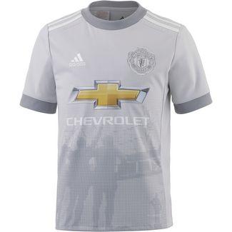 adidas Manchester United 17/18 CL Fußballtrikot Kinder lgh solid grey