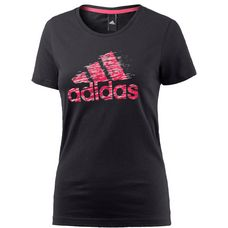 adidas T-Shirt Damen BLACK
