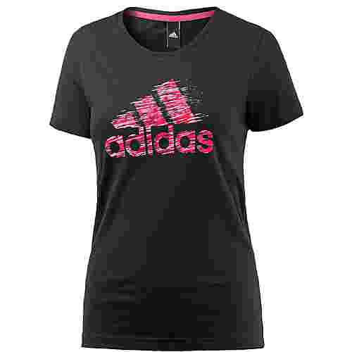 adidas T-Shirt Damen BLACK