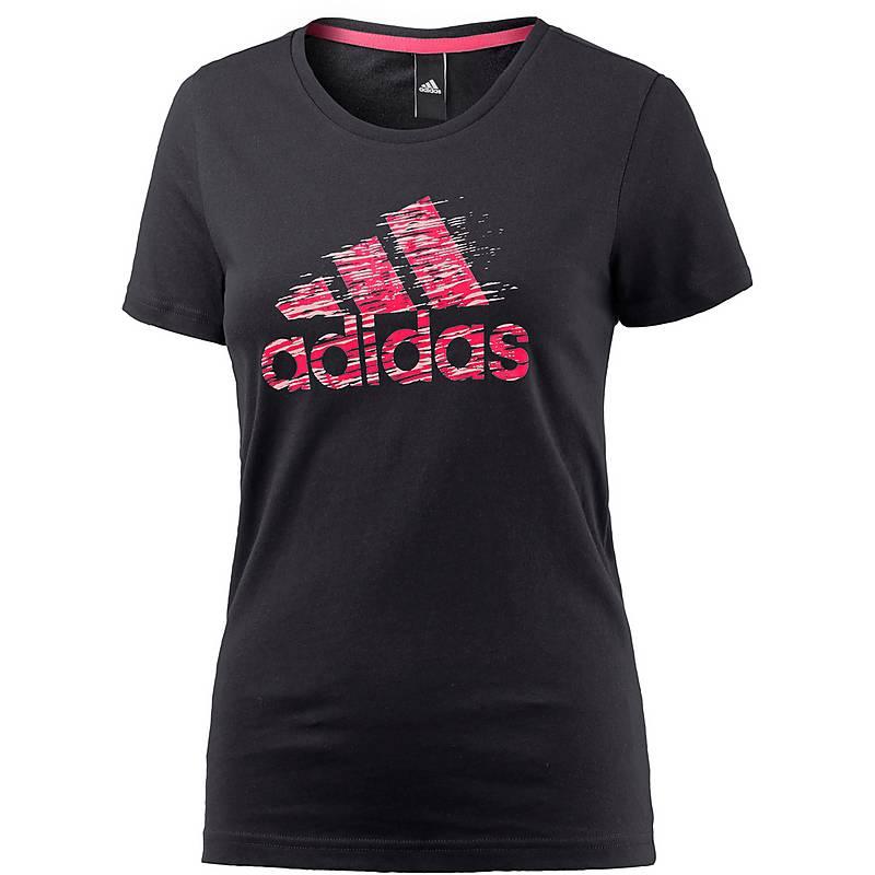 adidas shirt damen black