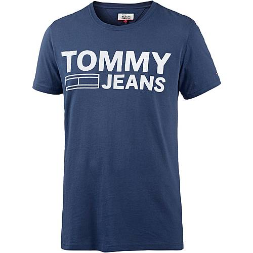 Tommy Jeans T-Shirt Herren blue depths