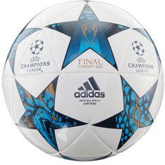 adidas FINALE CDF CAP Fußball white-mysblu-cyan