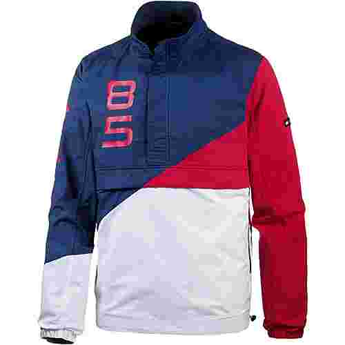 Tommy Jeans Windbreaker Herren blue depths multi
