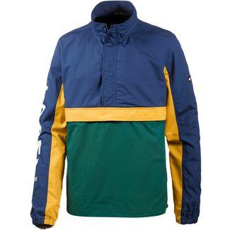 Tommy Jeans Windbreaker Herren evergreen multi