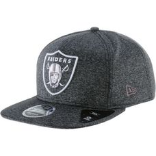 New Era JERSEY TECH 9FIFTY OAKLAND RAIDERS Cap graphite/optic white