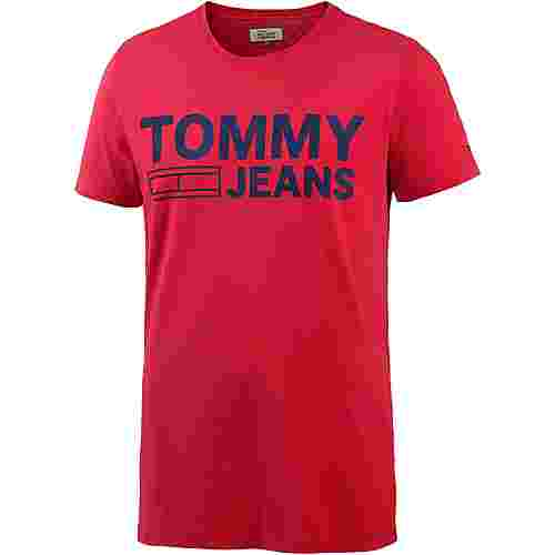 Tommy Jeans T-Shirt Herren racing red