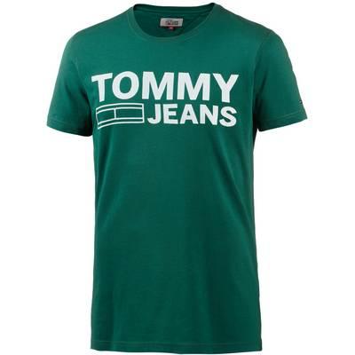 Tommy Jeans T-Shirt Herren evergreen