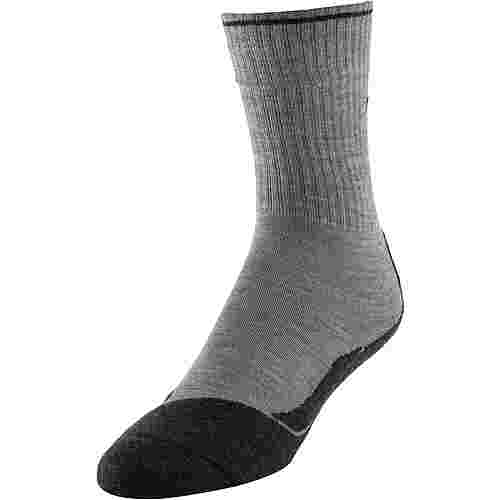 Falke TK2 Wool Silk Wandersocken Damen light grey