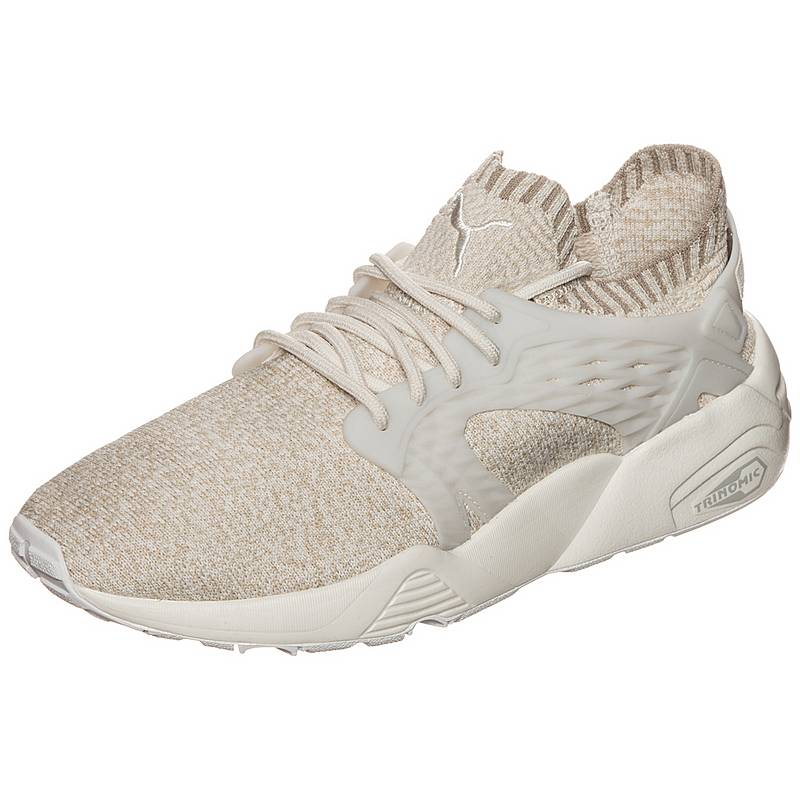 watch 347e2 4ffeb PUMABlaze Cage evoKNIT SneakerDamen beige   weiß
