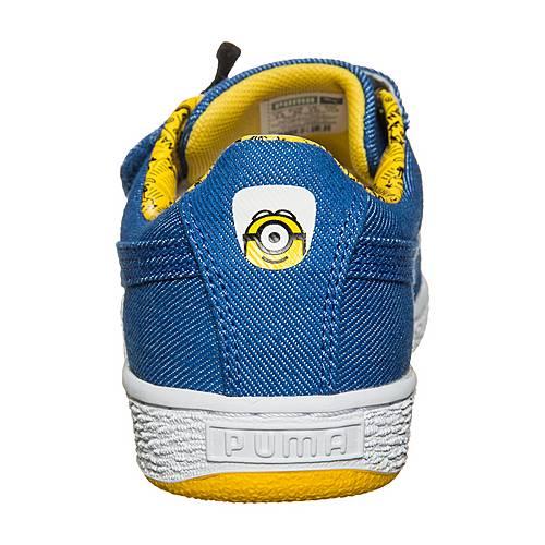 PUMA Minions X Puma Basket Wrap Statement Sneaker Jungen