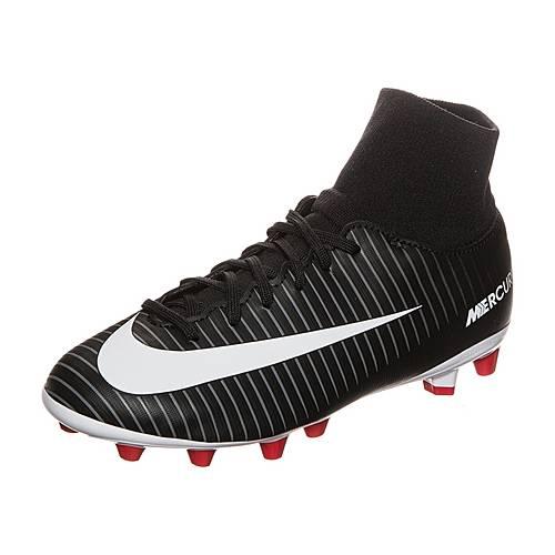 Nike Mercurial Victory VI DF Fußballschuhe Kinder schwarz / weiß