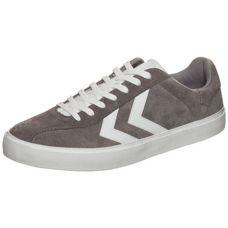 hummel Diamant Suede Sneaker grau / weiß