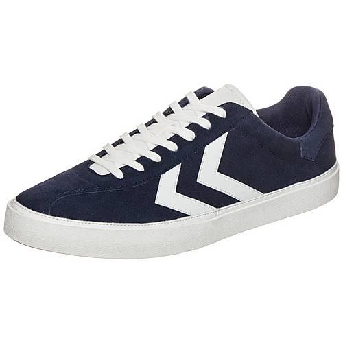 hummel Diamant Suede Sneaker blau / weiß