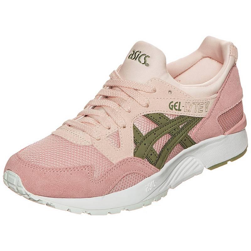 987eb281fa ... closeout asics gel lyte v sneaker damen rosa beige oliv e8706 f423b