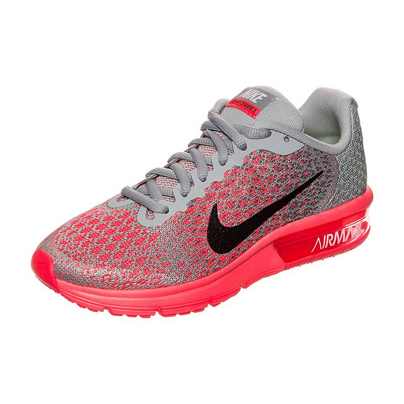 premium selection 22b1a 82a54 ... cheap nike air max sequent 2 laufschuhe kinder grau schwarz d3256 9dff1