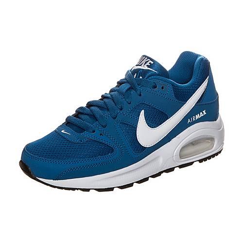 Nike Air Max Command Flex Sneaker Kinder blau / weiß