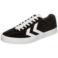 hummel Diamant Suede Sneaker schwarz / weiß