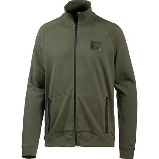TOM TAILOR Sweatjacke Herren woodland green