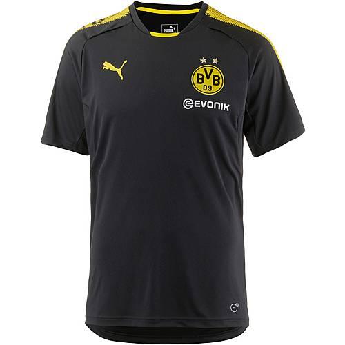 PUMA Borussia Dortmund Funktionsshirt Herren Puma Black-Cyber Yellow