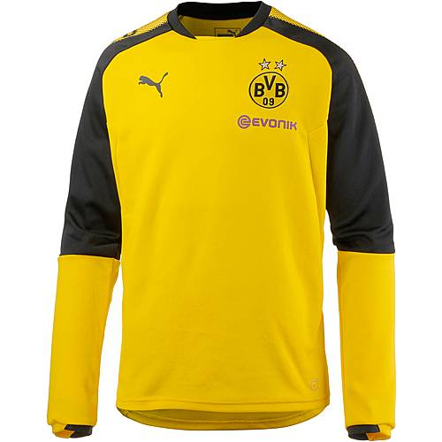 PUMA Borussia Dortmund Funktionsshirt Herren Cyber Yellow-Puma Black