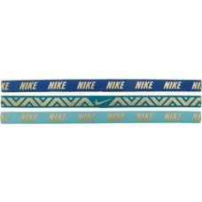 Nike Metallic Haarband Damen BLUE JAY/BLUSTERY/LIGHT AQUA