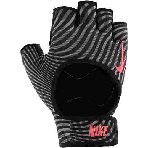 Nike Fitnesshandschuhe Damen grau-pink