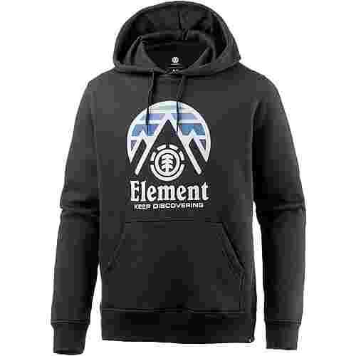 Element TRI TIP Fleecehoodie Herren FLINT BLACK