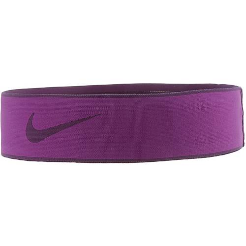 Nike Pro Swoosh 2.0 Haarband Damen BOLD BERRY/NIGHT PURPLE/NIGHT PURPLE