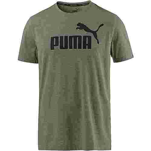 PUMA T-Shirt Herren olive-night-heather