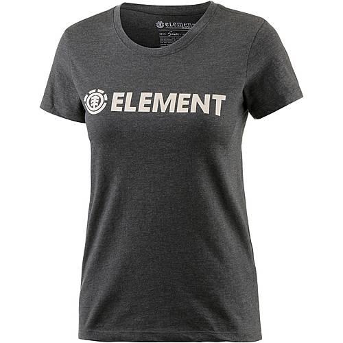 Element ELEMENT LOGO T-Shirt Damen OFF BLACK