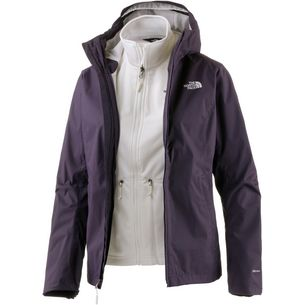 The North Face Tanken Triclimate Doppeljacke Damen DARK EGGPLANT PURPLE