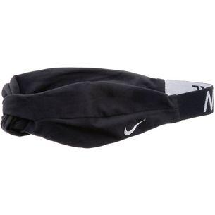 Nike Logo Twist Haarband Damen BLACK/WHITE/WHITE