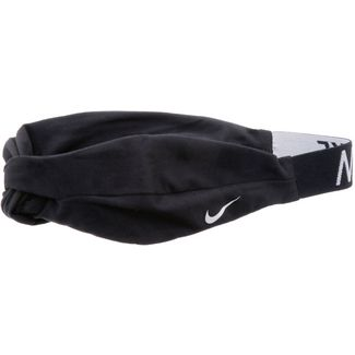 Nike Logo Twist Haarband Damen BLACK/WHITE/WHITE