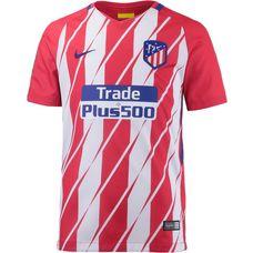 Nike Atletico Madrid 17/18 Heim Fußballtrikot Kinder SPORT RED/WHITE/(DEEP ROYAL BLUE)